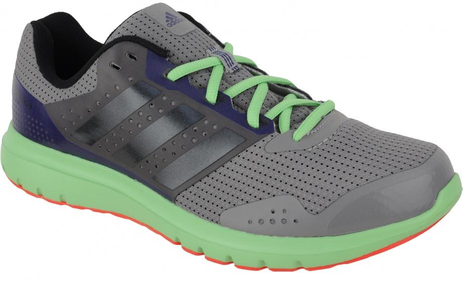 adidas Hardloopschoenen Duramo 7 heren grijs-groen maat 46