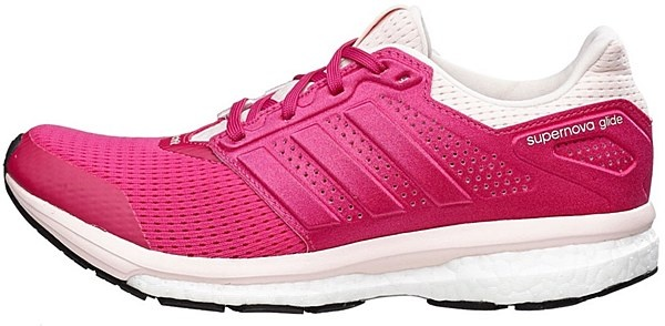 adidas Hardloopschoenen Supernova Glide 8 dames roze mt 37 1-3