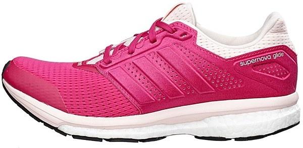 adidas Hardloopschoenen Supernova Glide 8 dames roze mt 38 2-3