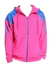 adidas Jack TC FZ Hoody heren roze maat XS