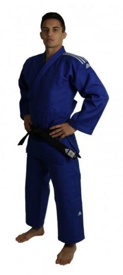 adidas judopak Champion II IJF unisex blauw maat 195