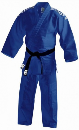 adidas judopak J800 unisex blauw maat 150
