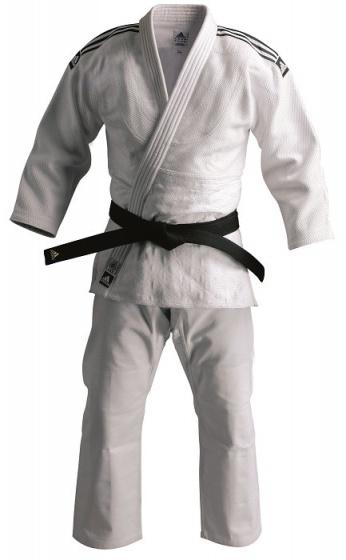 adidas judopak J930 unisex wit maat 155