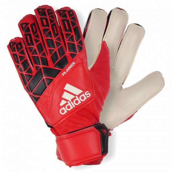 the latest 1a535 0fbc5 goalkeeper Ace FS gloves junior red/black