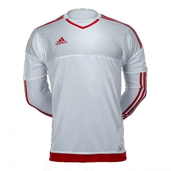 adidas Keepersshirt Adizero Top 15 grijs-wit-rood maat M
