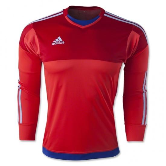 adidas Keepersshirt Adizero Top 15 rood-blauw-grijs maat XXL