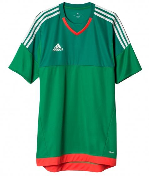 adidas Keepersshirt P Adizero Top 15 groen-rood maat XS-S