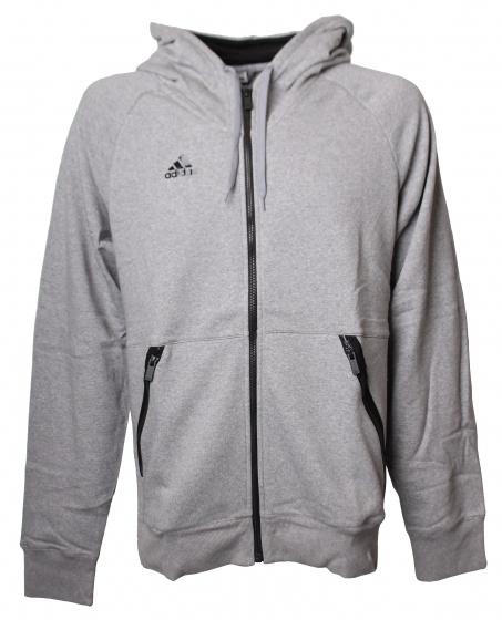 adidas Postgame Full Zip hoodie heren grijs maat L