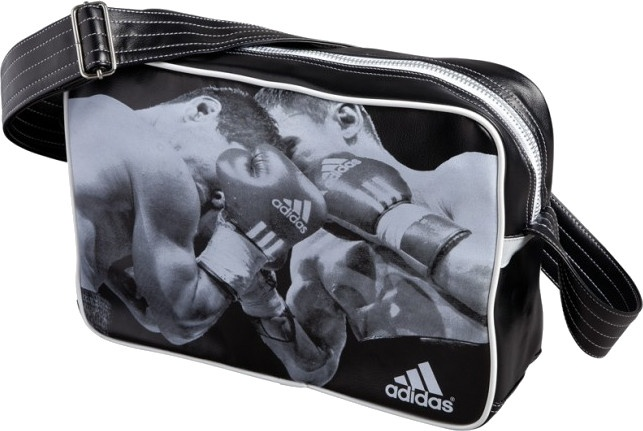 adidas schoudertas Boxing 25,5 liter zwart