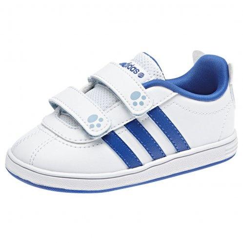 Adidas Sneakers Court Animal Junior Wit-Blauw Maat 24
