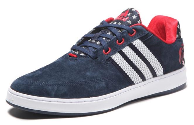 adidas sneakers D Rose LakeShore 2 heren donkerblauw mt 46 2-3