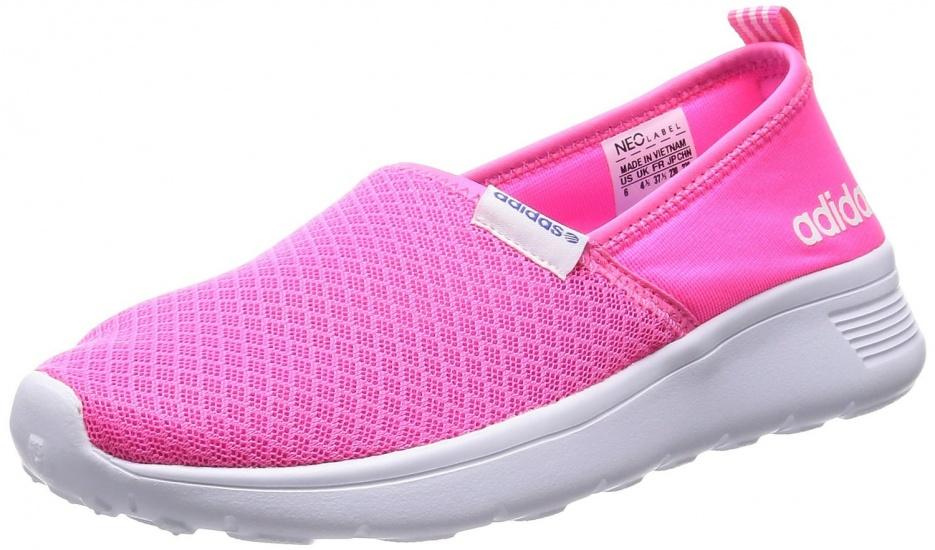 Adidas Sneakers Lite Racer Slip On Dames Roze Maat 44