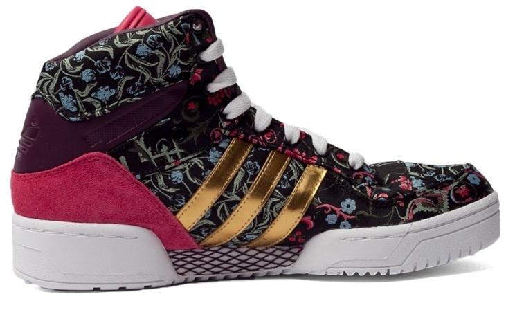 adidas sneakers M Attitude dames zwart-paars mt 38
