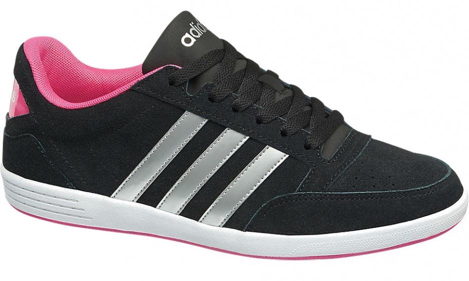 adidas sneakers Neo Hoops VL zwart dames maat 42