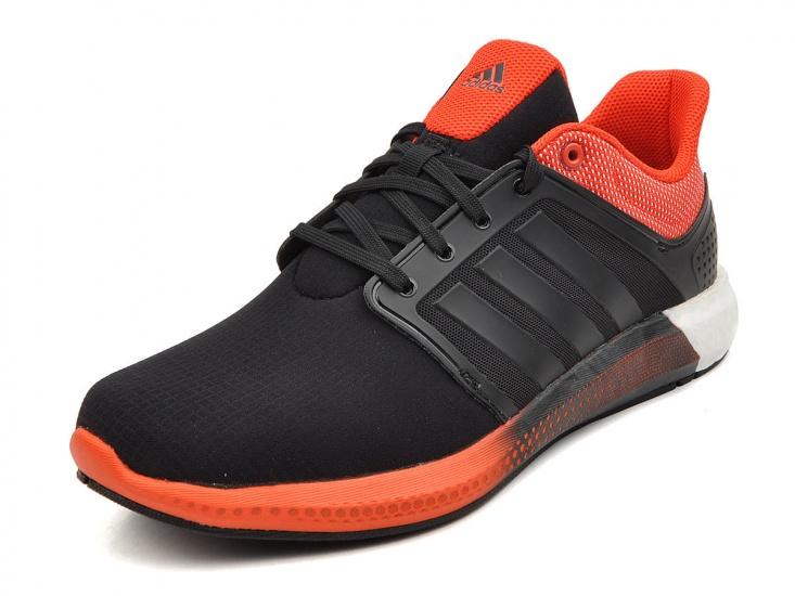 Adidas Sneakers Solar Heren Zwart-Oranje Maat 39 1-3