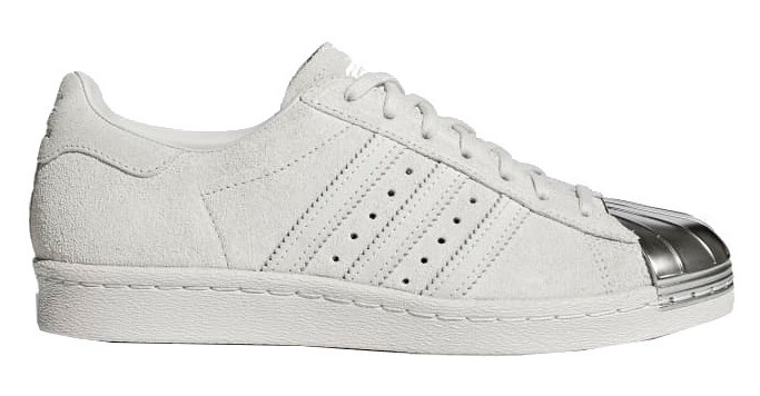 official images lower price with sale usa online Baskets Superstar 80s dames blanc / argent taille 36 2/3