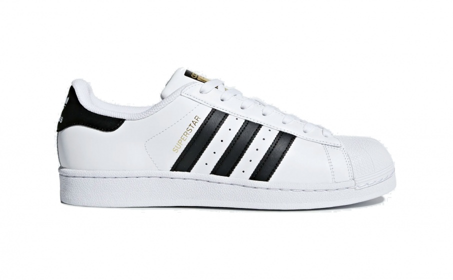 1b1452354f8476 adidas unisex white / black sneakers Superstar 80s - Internet ...