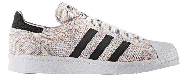 adidas sneakers Superstar 80's Primeknit heren wit mt 42
