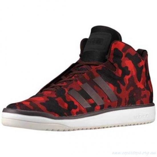 Adidas Sneakers Veritas Mid Unisex Zwart-Rood Maat 41 1-3