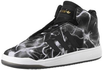 Adidas Sneakers Veritas Mid Unisex Zwart-Wit Maat 46 2-3
