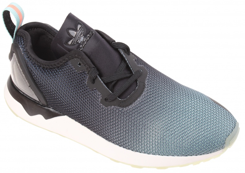 super popular ab51c d13a0 Sale! adidas Sneakers ZX Flux ADV Asym men blue  black