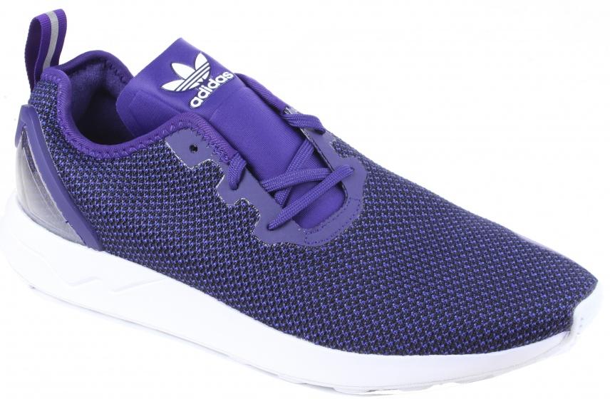 adidas sneakers ZX Flux ADV Asym heren paars mt 37 1-3