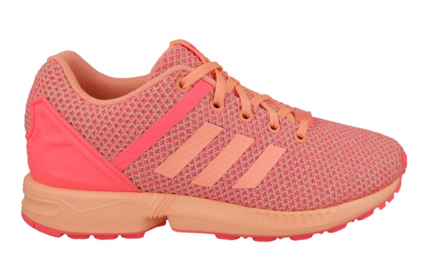 adidas sneakers ZX Flux Split El junior oranje maat 21