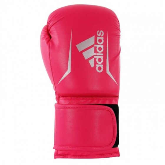 adidas Speed 50 bokshandschoenen roze-zilver maat 4 oz