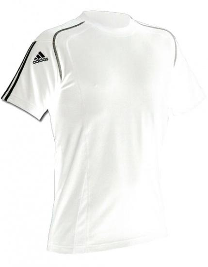 Adidas Sportshirt Climacool heren wit maat XL
