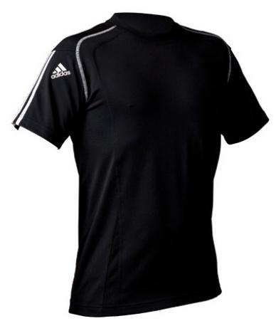 Adidas Sportshirt Climacool heren zwart maat XS