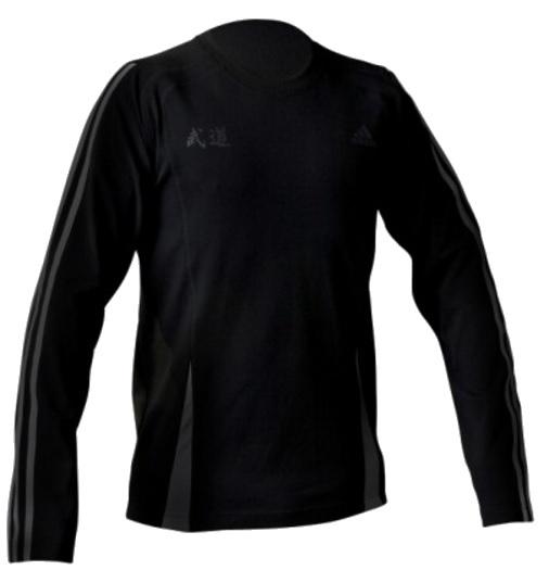 Adidas Sportshirt Climacool Zen LM heren zwart maat XL