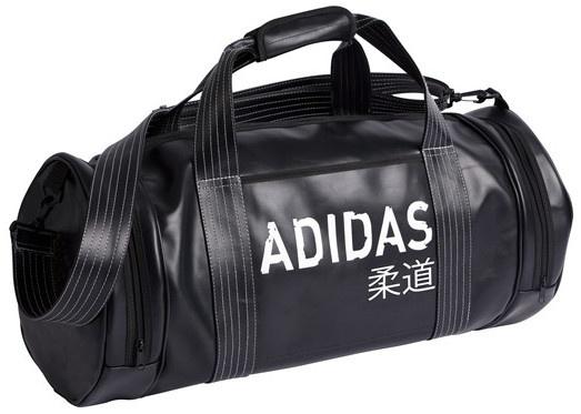 adidas sporttas rond judo zwart 51 liter