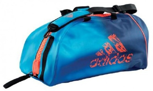 adidas sporttas Super blauw-oranje 60 liter