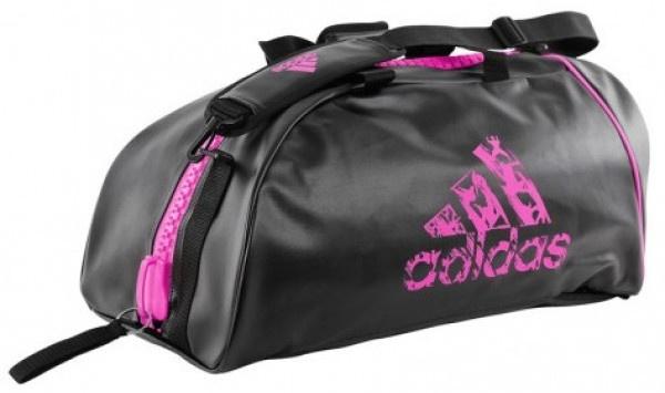 adidas sporttas Super zwart-roze 83 liter