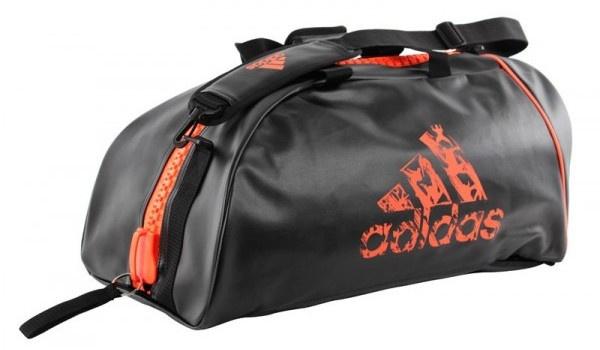 Adidas Super Boxing Sporttas Zwart-Oranje