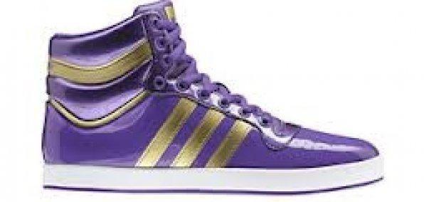 adidas Top X Heren Sneakers Paars Goud Maat 36 2-3