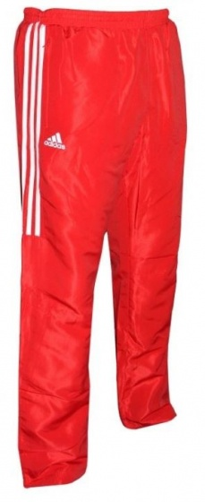 Adidas Team Track Trainingsbroek Rood-Wit_L