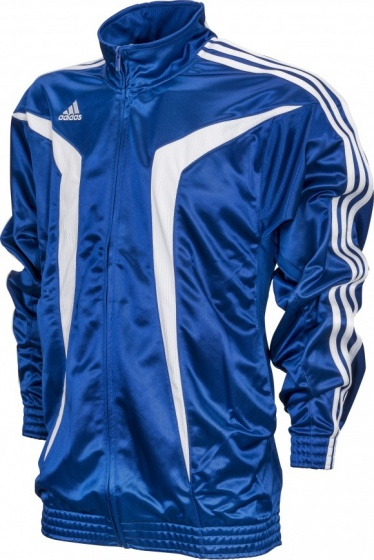 adidas trainingsjack Euro Club heren blauw maat XXS