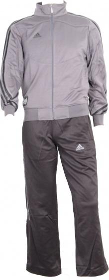 adidas trainingspak Jersey zwart-grijs unisex maat XS