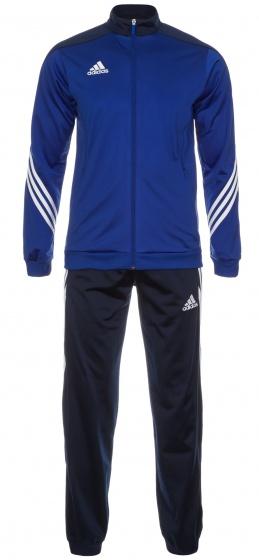 adidas trainingspak Sereno 14 blauw-wit heren maat S