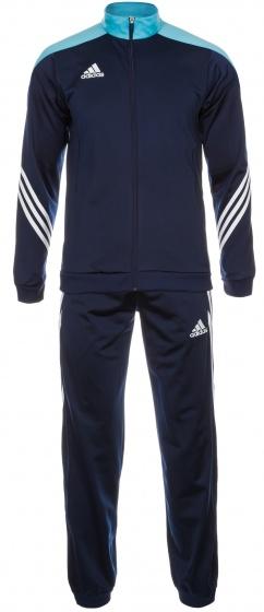 adidas trainingspak Sereno 14 donkerblauw heren maat M
