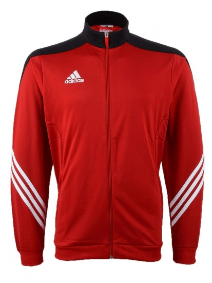 Adidas Trainingspak Sereno 14 Pes Heren Rood-Zwart Maat S