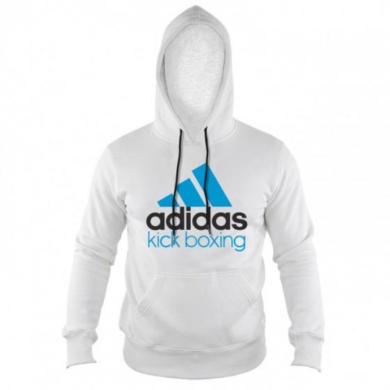 Adidas Community Kickboxing Hoodie Wit-Blauw