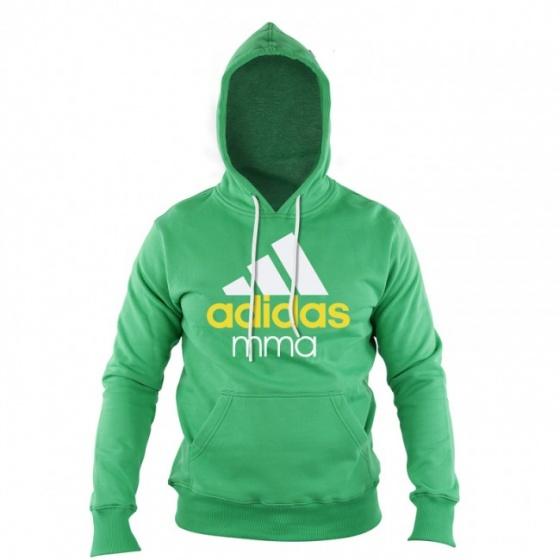 Adidas Community Junior MMA Hoodie Groen-Wit