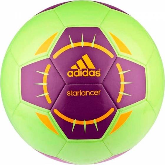 adidas voetbal Starlancer IV lichtgroen-paars maat 5