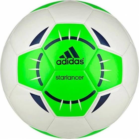 adidas voetbal Starlancer IV wit-groen maat 4