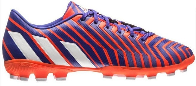 Adidas Voetbalschoenen Absolado Instinct AG heren paars-rood mt 41 1-3