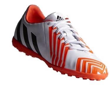 Adidas Voetbalschoenen Absolado junior wit-oranje maat 31,5