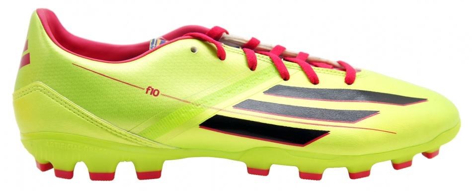 Adidas Voetbalschoenen F10 TRX AG geel heren maat 41 1-3