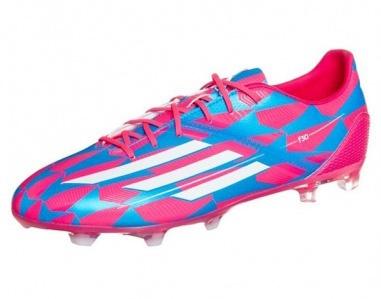 Adidas Voetbalschoenen F30 FG Roze-Blauw Heren Maat 45 1-3